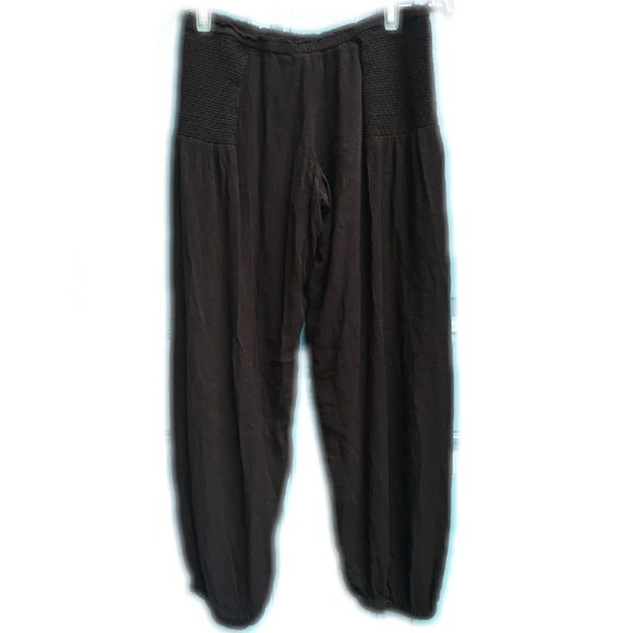 Free People Other - Free People Intimately S Black Rayon Lounge Pants